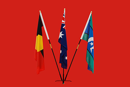 Indoor 3 Flagpole Stand Aboriginal Flags Australian Flags Indigenous Flags Timber Wooden Flagpoles Windsocks Windsock Pole Windsock Swivel Frames by Adwareflags.com