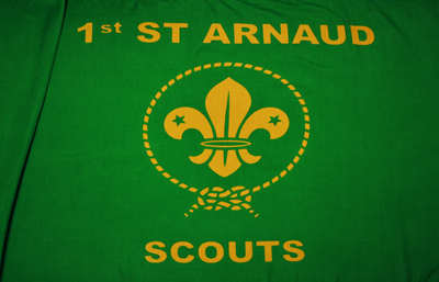 1st St Arnaud Scout Group Flag by Adwareflags.com