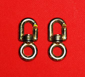 Flagpole Rope Clips Swivel Used With Metal Flag Clips Eliminates Rope Fatigue