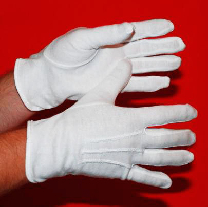 Cotton Gloves For Flagpole Parade Marching By Adwareflags.com