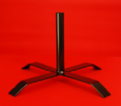 Indoor Flagpole Stand $249.00 Ea Steel Painted Satin Black Australian Made In Melbourne By Adwareflags.com