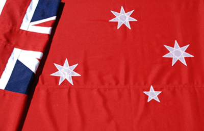 Australian Red Ensign Fully Sewn Flag by Adwareflags.com