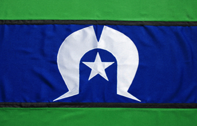 Torres Strait Island Fully Sewn Flag by Adwareflags.com