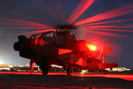 Windsocks Supplied To ADF Kandahar Afghanistan AH-64 Apache Helicopter