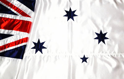 Royal Australian Navy Satin Flag by Adwareflags.com