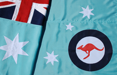RAAF Fully Sewn Flag by Adwareflags.com