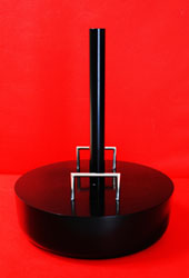 Portable Flagpole Base Indoor or Outdoor Concrete With Optional Stainless Steel Handles By Adwareflags.com